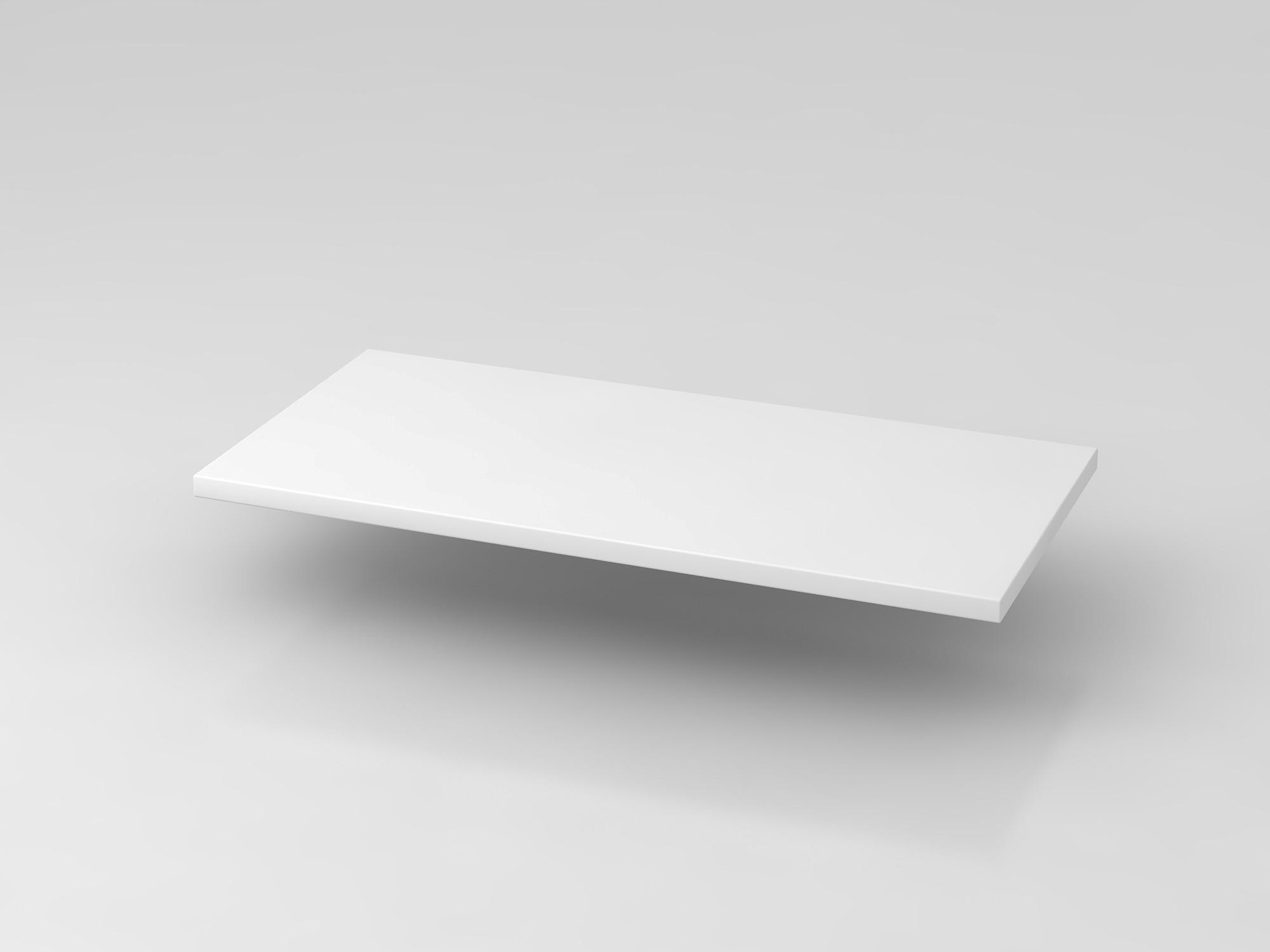 Fachboden 80 cm Weiß 9er Wand