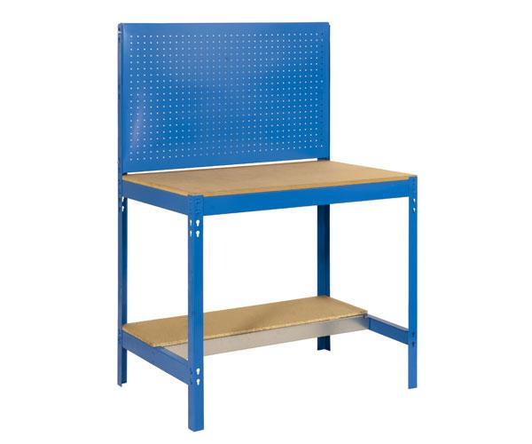 Stecksystem KIT SIMONWORK BT2 900 AZUL/MADERA Maße: 144,5x91x61 Traglast: 250kg/600kg Oberfläche: blau
