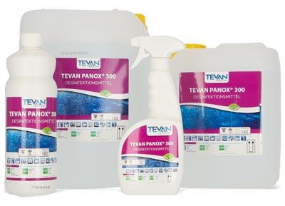 Flächen-Desinfektionsmittel Tevan Panox, Kanister 10 Liter