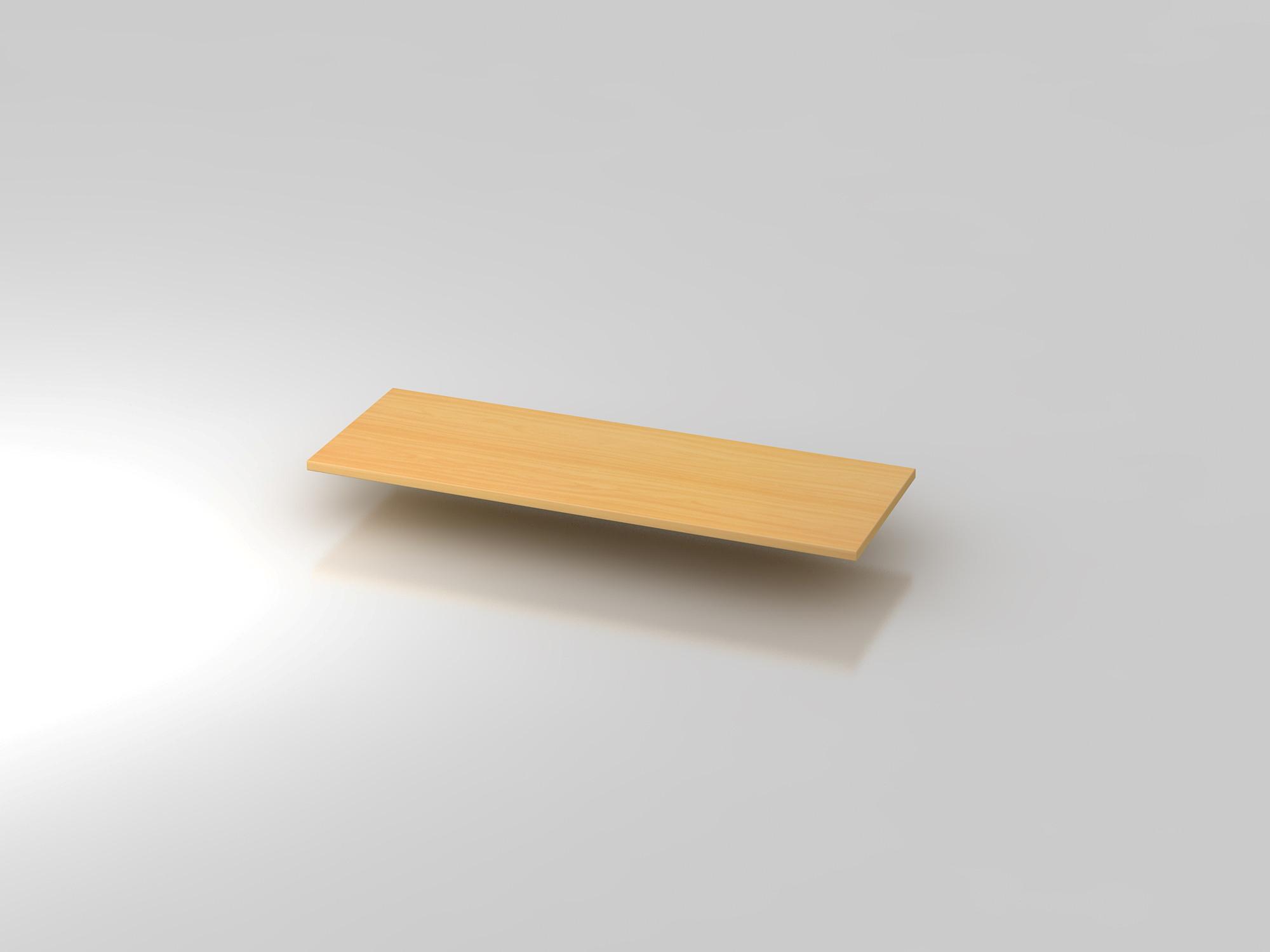 Abdeckplatte 120,5x43cm Buche