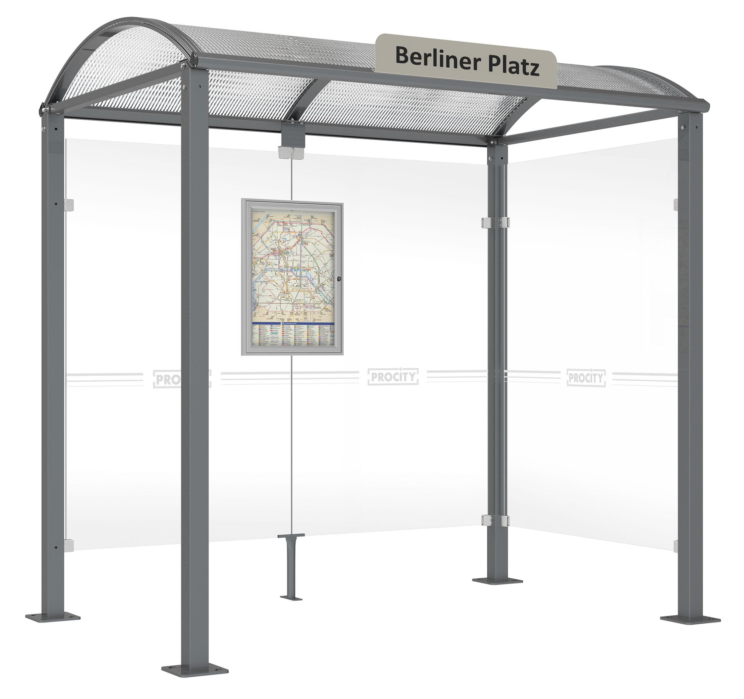 Optionen Für Wartehalle Vierkantrohr