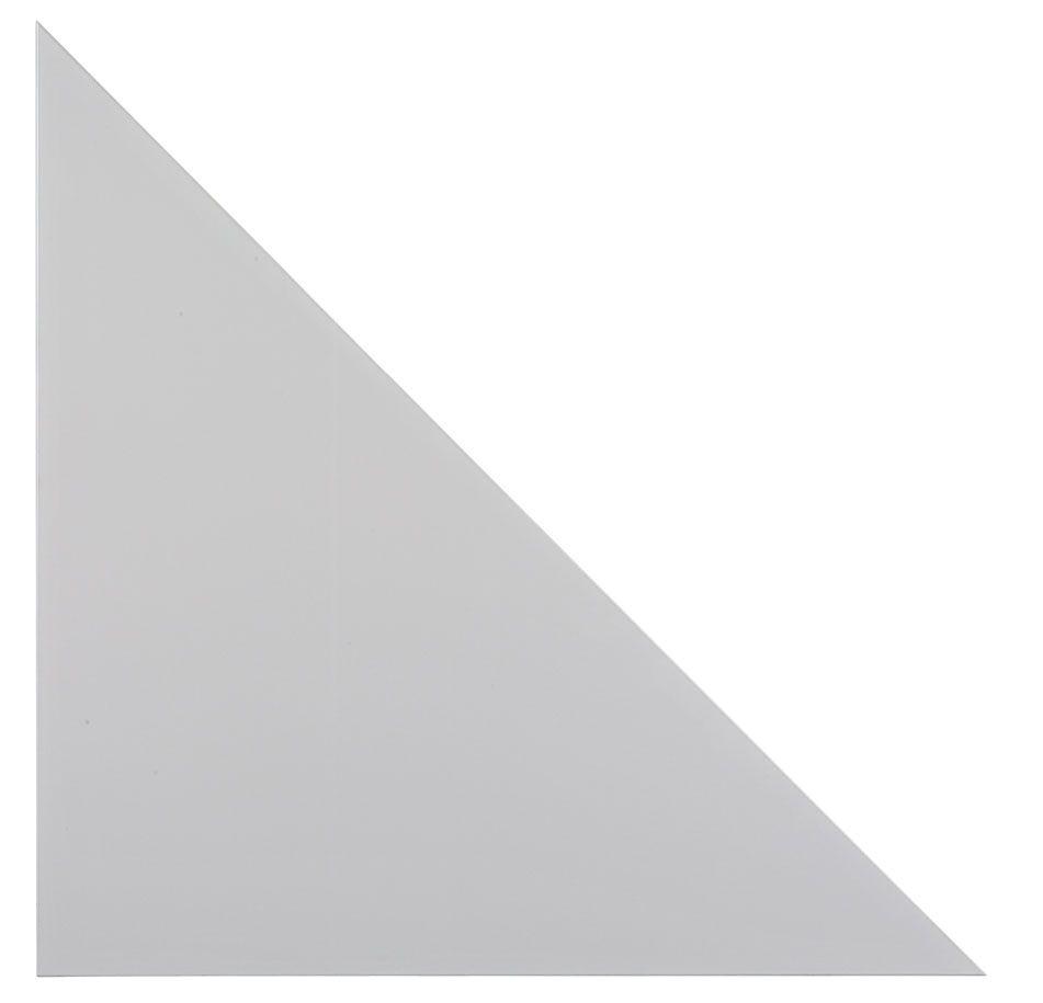 Eckplatte Callcenter 80x80cm Grau