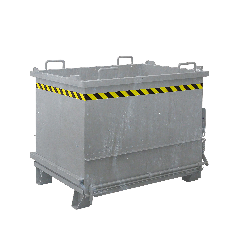 Baustoff-Container mit Klappboden, 2035.4 verz.