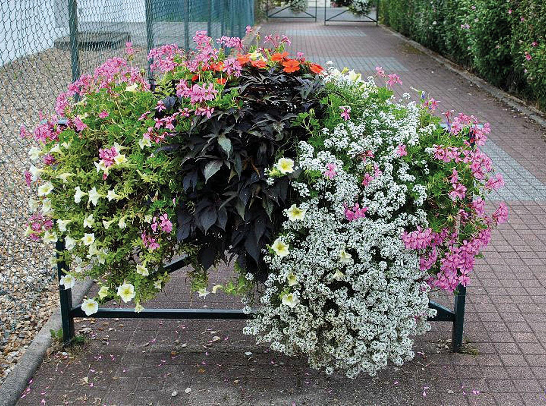 Pflanzgefäße Für Stadtgeländer