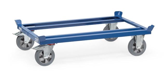 Paletten-Fahrgestell 22809 mit Elastic-Vollgummi-Bereifung