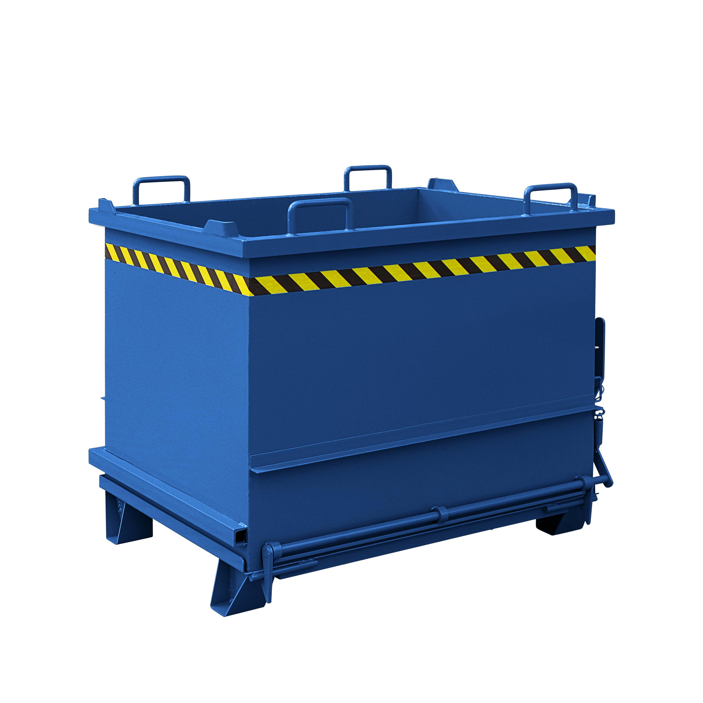 Baustoff-Container mit Klappboden, 2035.4 RAL 5010