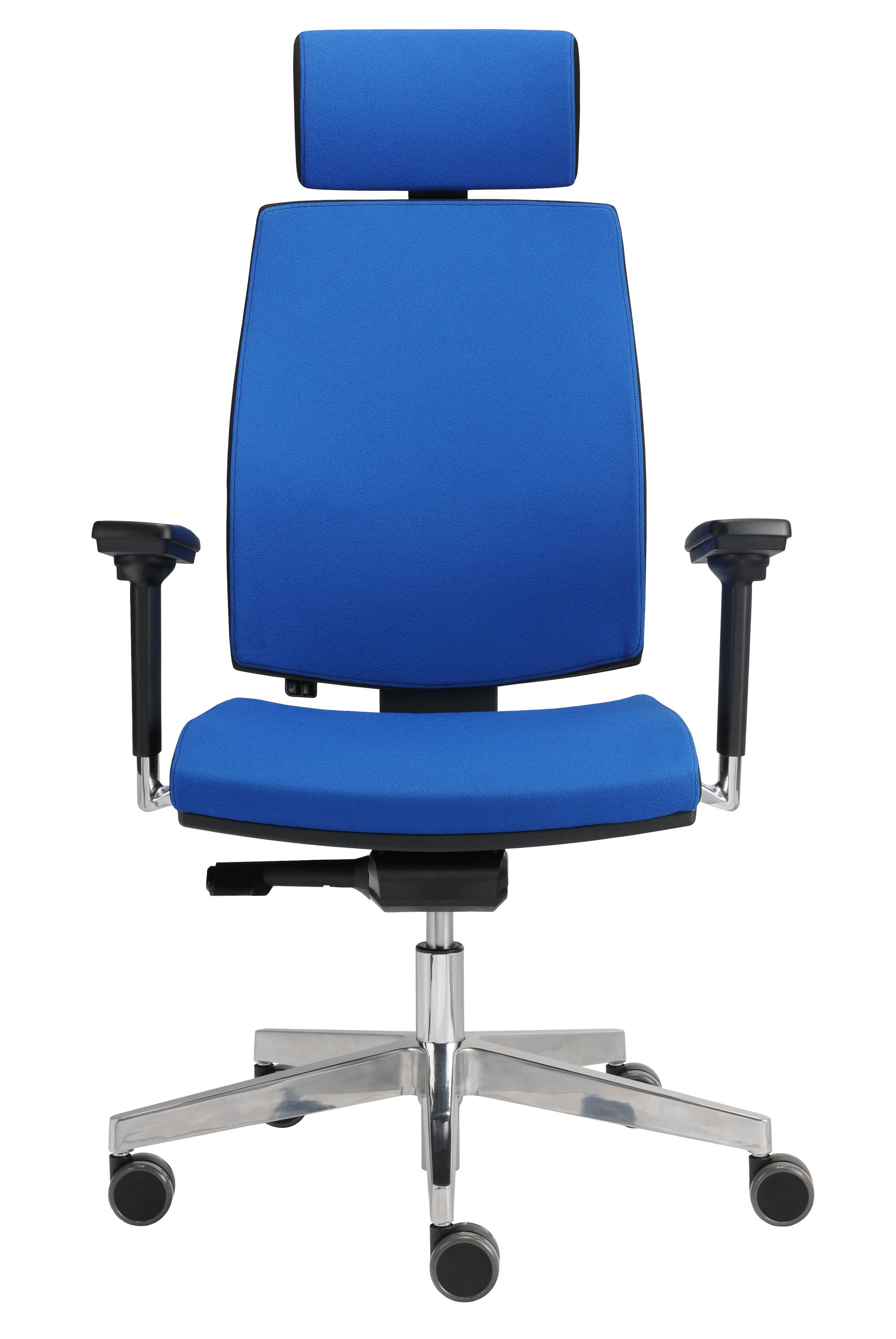 Bürostuhl Premium 1, blau