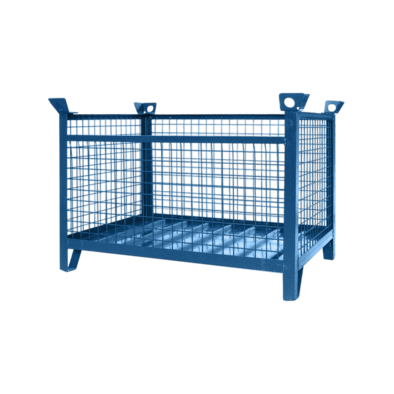 Gitterbox-Stapelpalette, 1315.1 RAL 5010