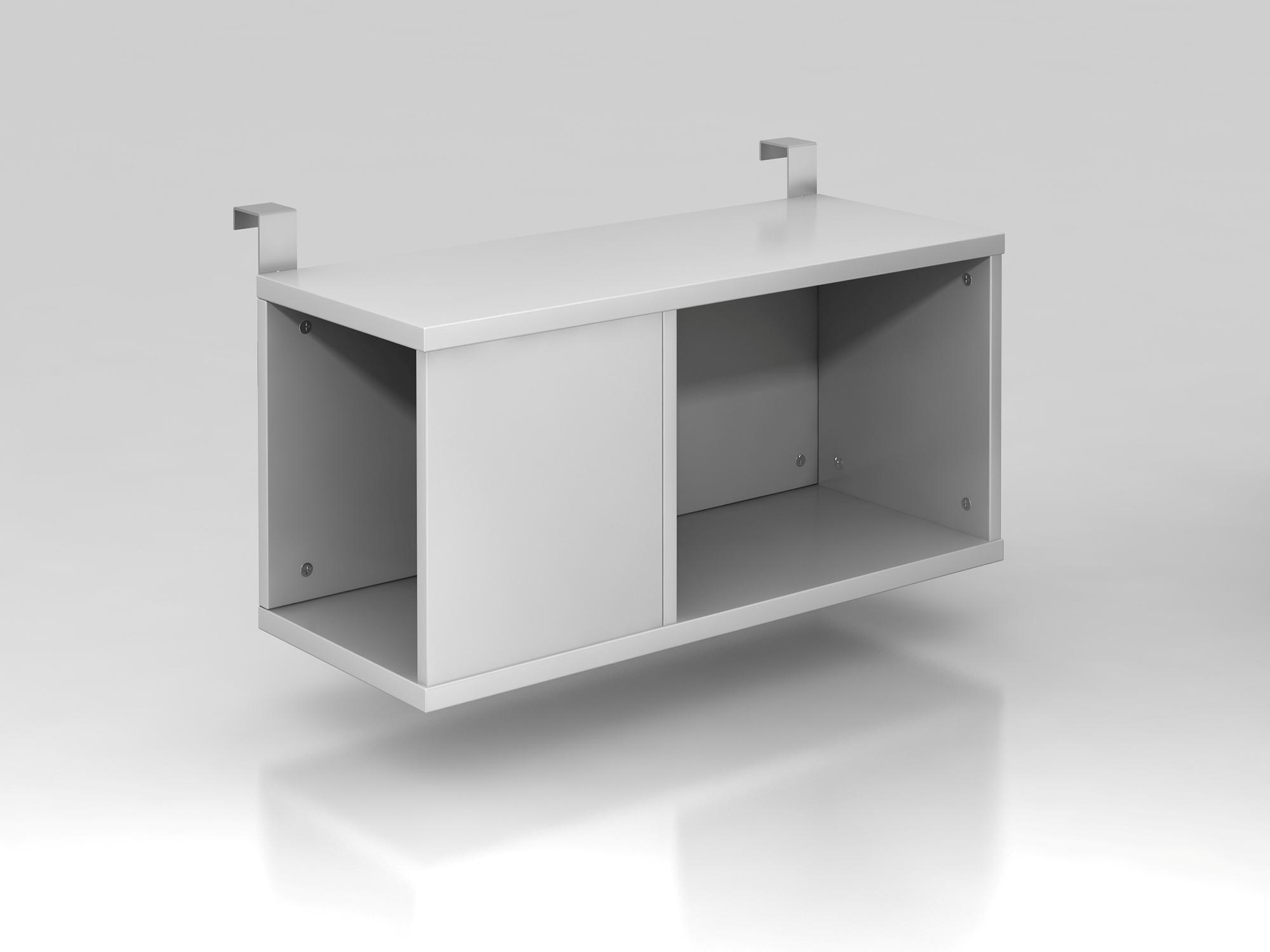 Einhängebox 80cm tief Silber