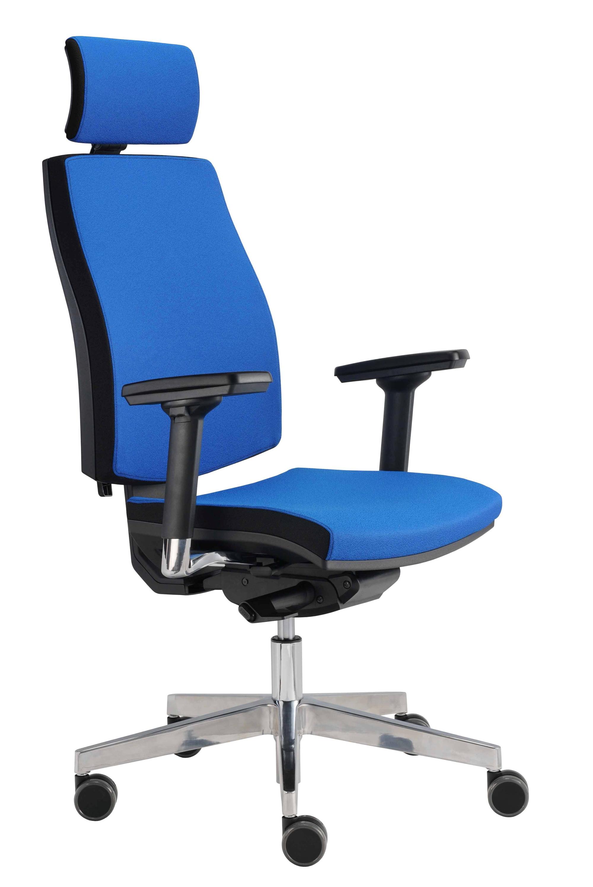 Drehstuhl Premium 1, blau