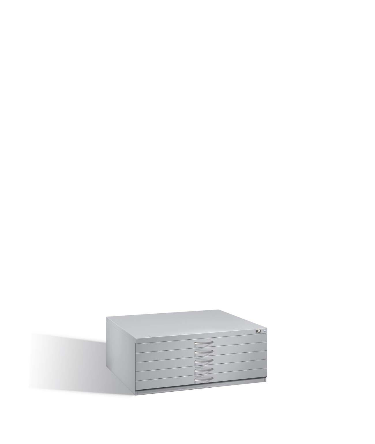 Flachablageschrank Serie 7100_7200, H420xB1100xT765mm