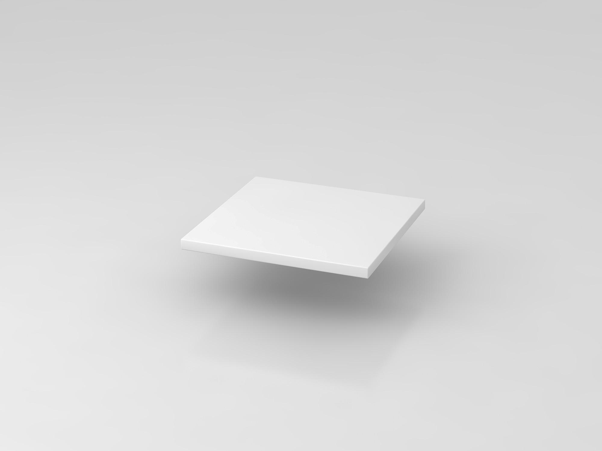 Fachboden 40 cm Weiß 9er Wand