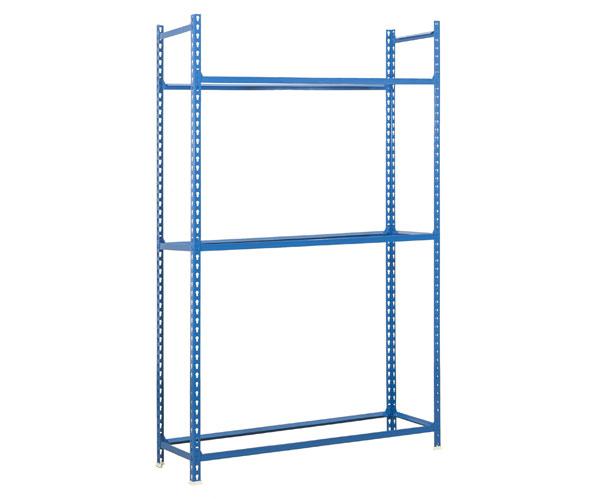 Steckregal KIT AUTOCLICK RUEDAS MEGAPLUS 3/400 AZUL Maße: 200x120x40 Traglast: 120kg Oberfläche: blau