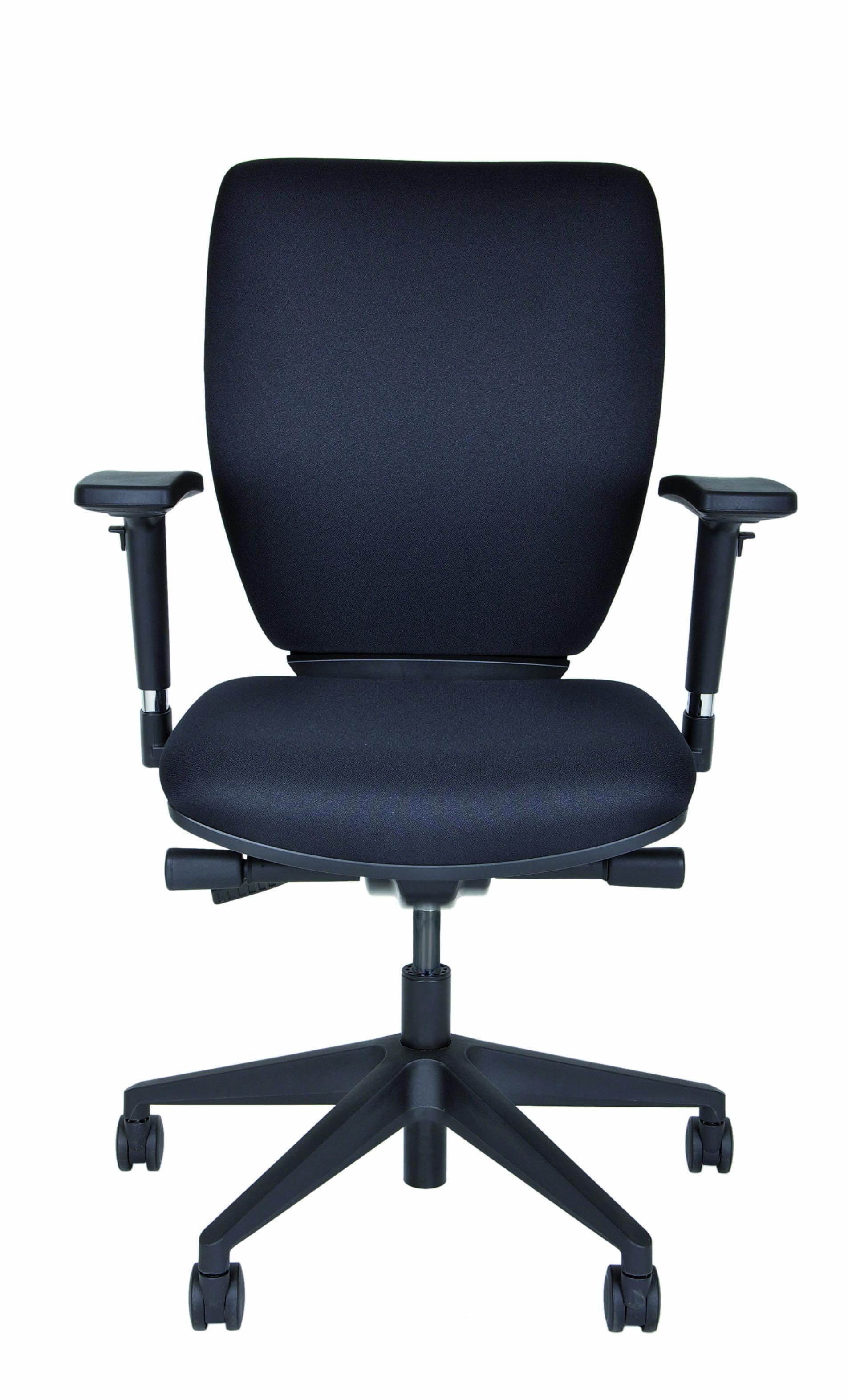 Bürodrehstuhl Optime, Polster, Kunststofffußkreuz