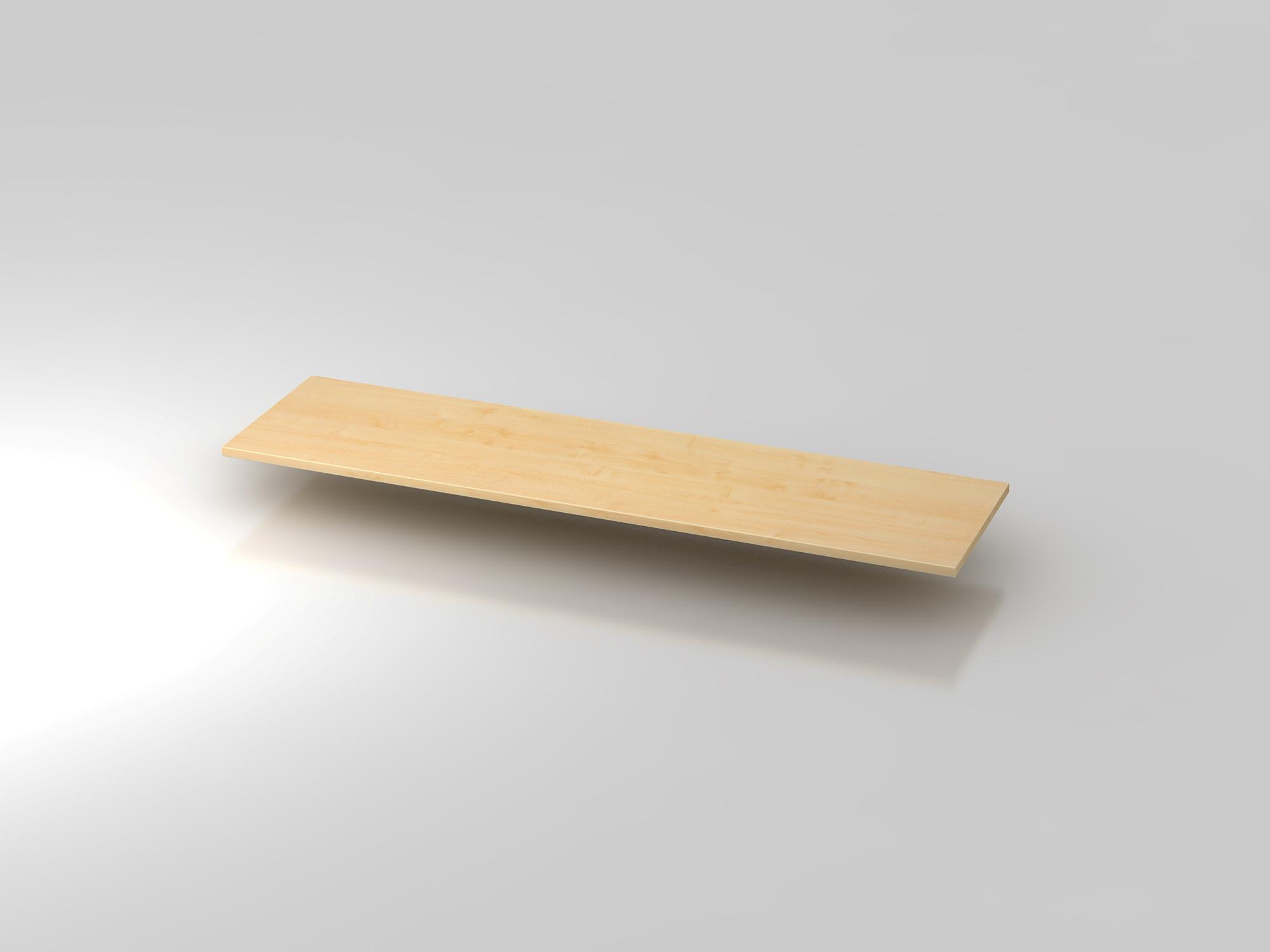 Abdeckplatte 160,5x43cm Ahorn