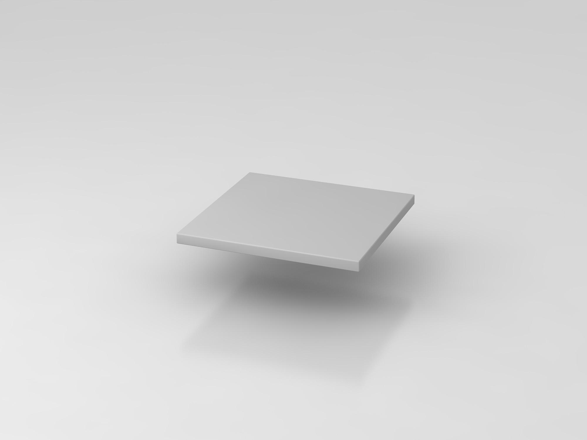 Fachboden 40 cm Grau 9er Wand