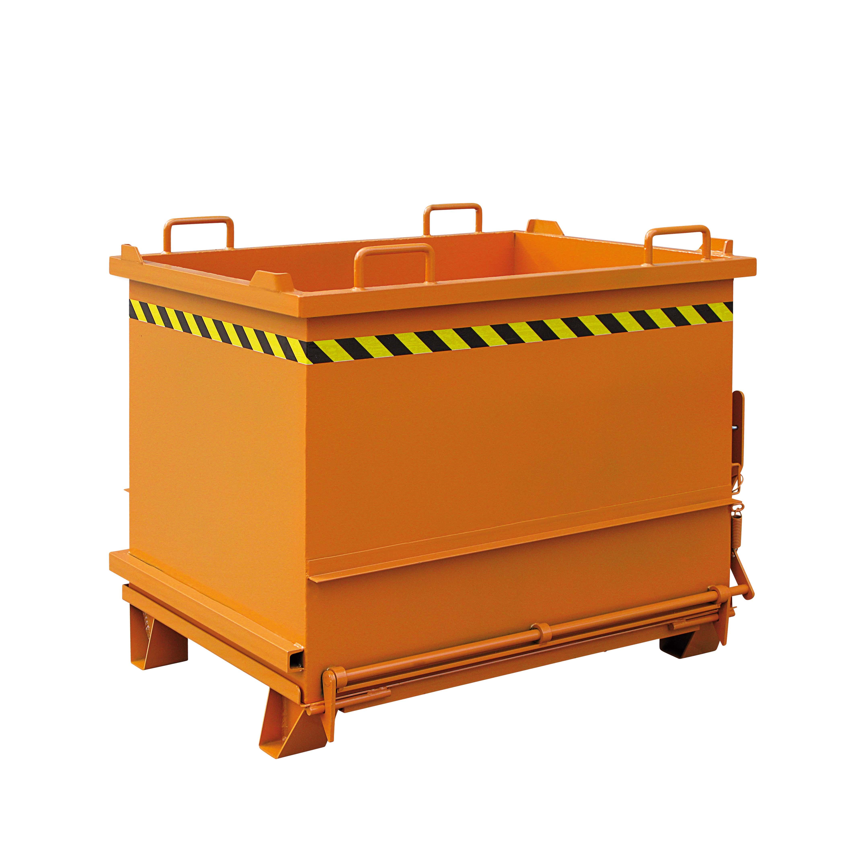 Baustoff-Container mit Klappboden, 2035.4 RAL 2004