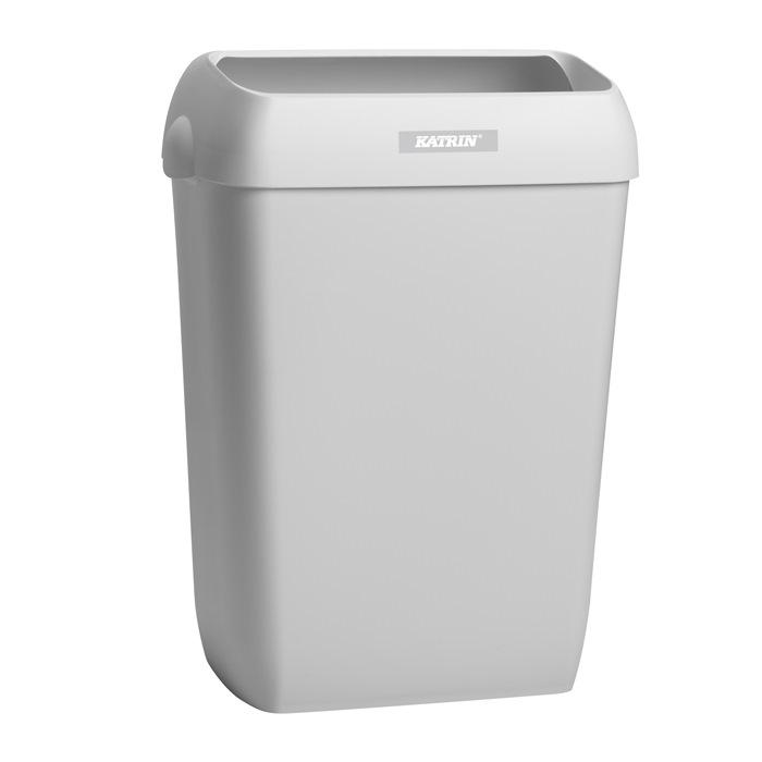 Abfallbehälter Fassungsvermögen 50l weiß