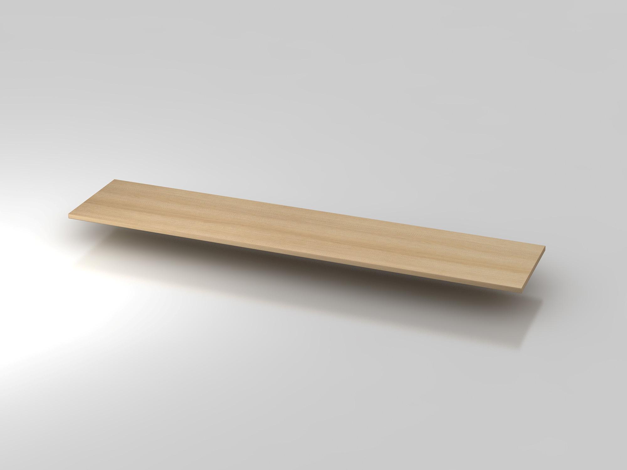 Abdeckplatte 200,5x43cm Eiche