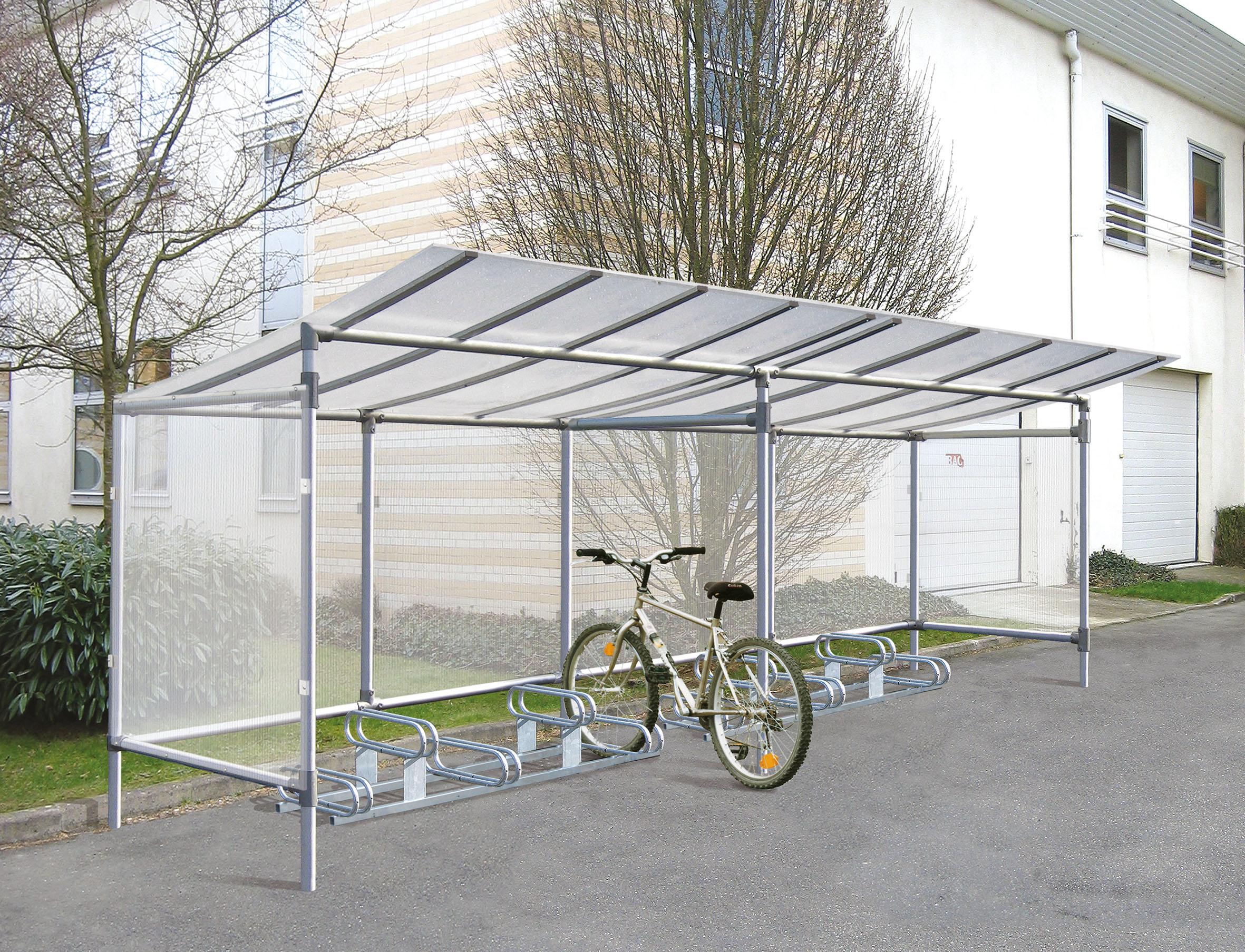Fahrradüberdachung Eco