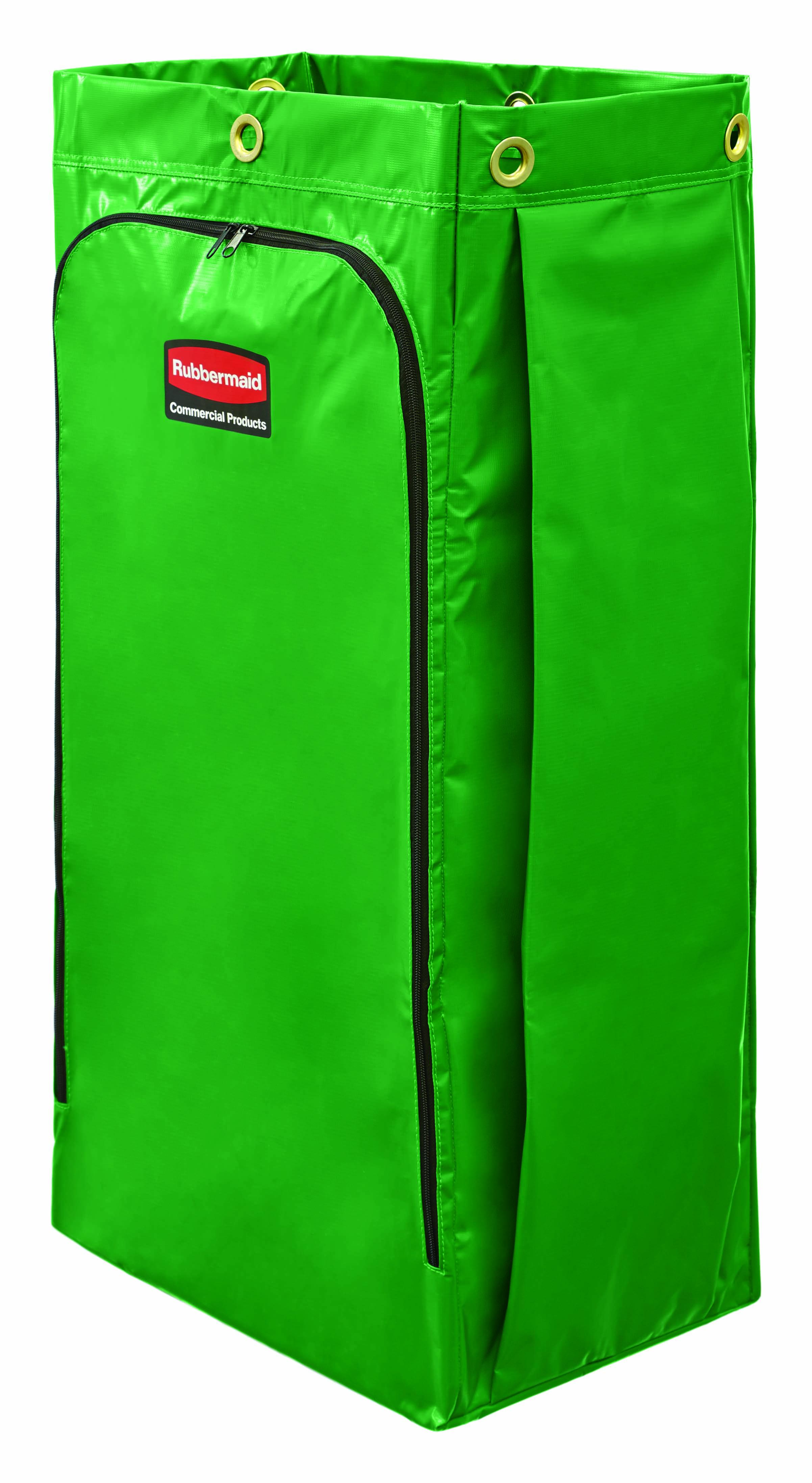 Recycling-Sack mit Universal-Recyclingsymbol-Grün