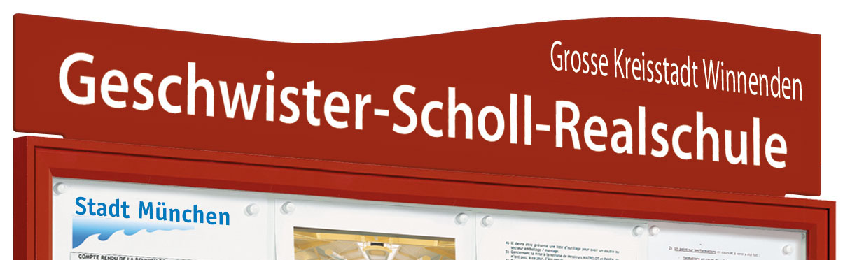 """Beschriftungstafeln Für Schaukasten """"Tradition"""" Und """"Klassik"""""""