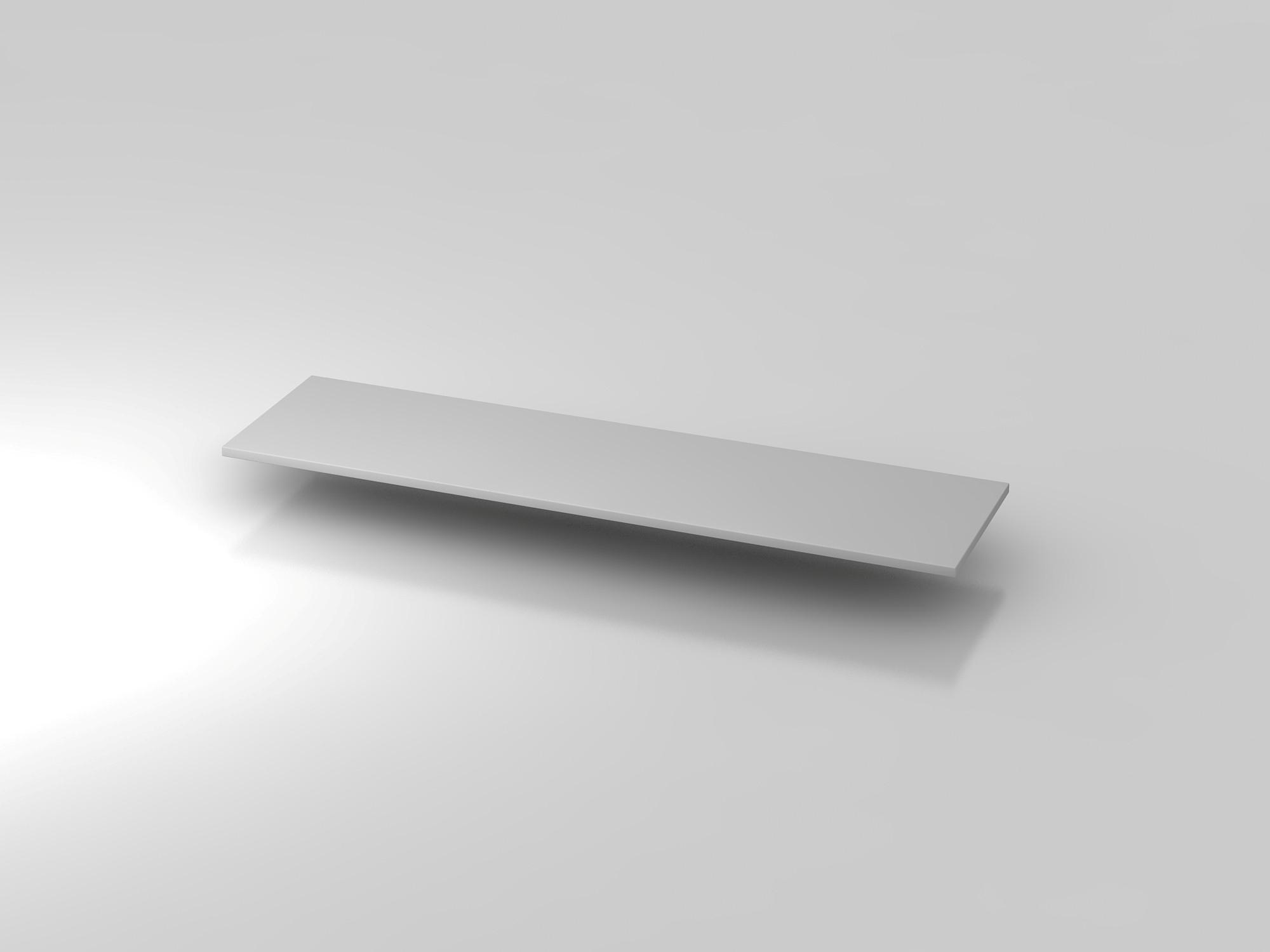Abdeckplatte 160,5x43cm Grau