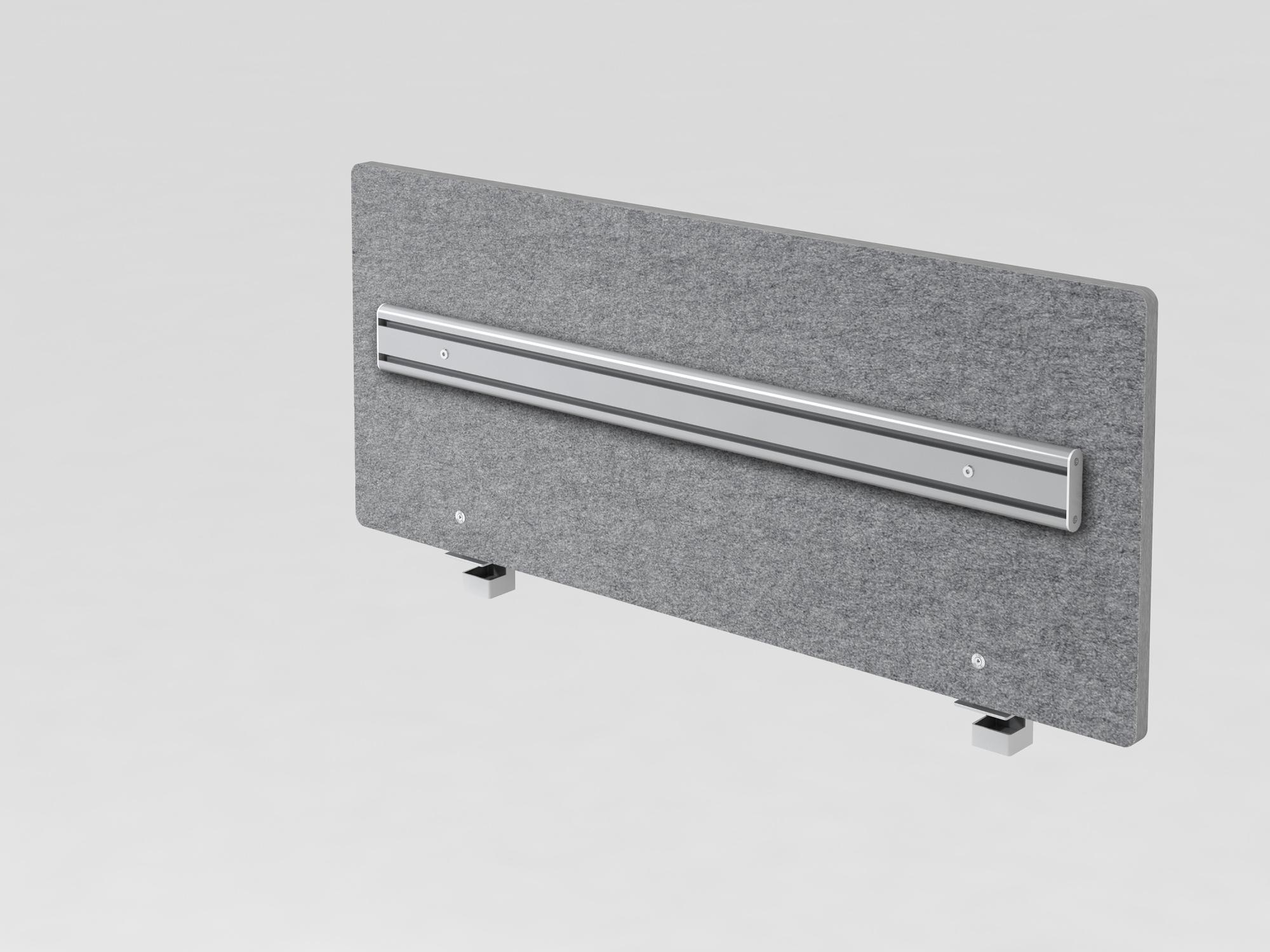 Akustik-ORGAwand 120cm, grau-meliert