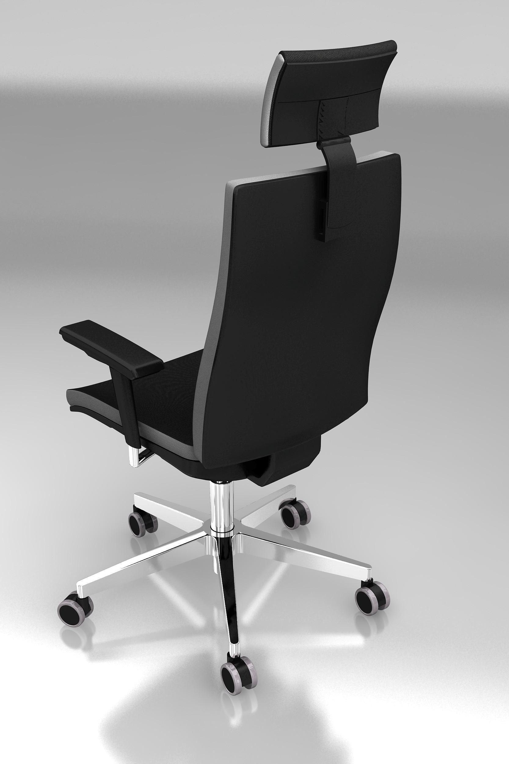 Bürostuhl Premium 1, Schwarz