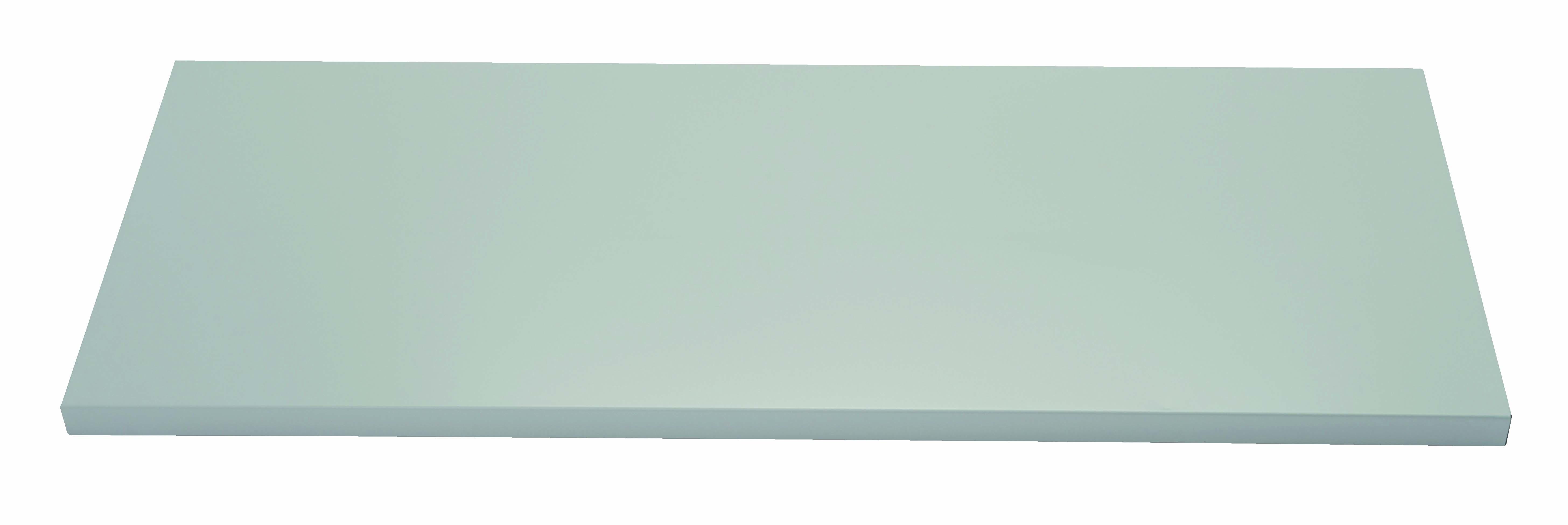 Fachboden mit Lateralhängevorrichtung für Flügeltürenschrank Universal, B 914 mm, Farbe lichtgrau