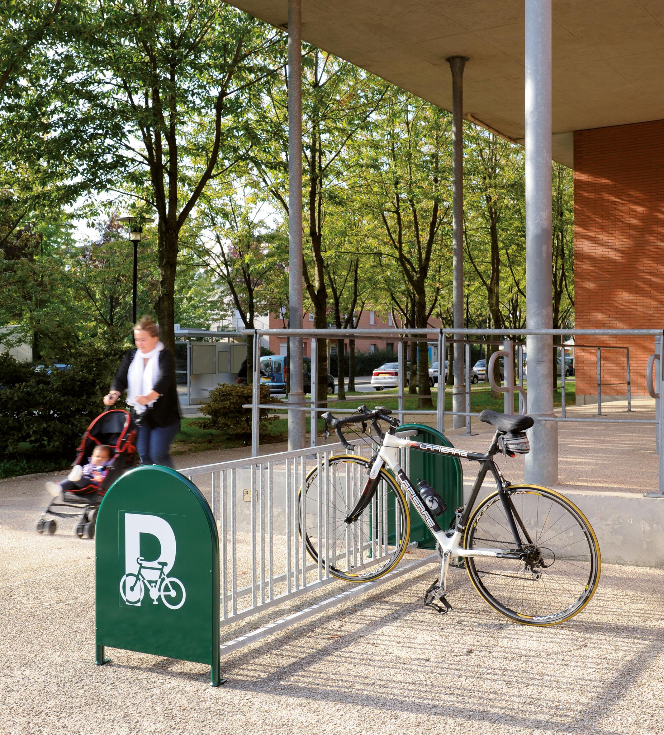 Fahrradständer 16 Plätze