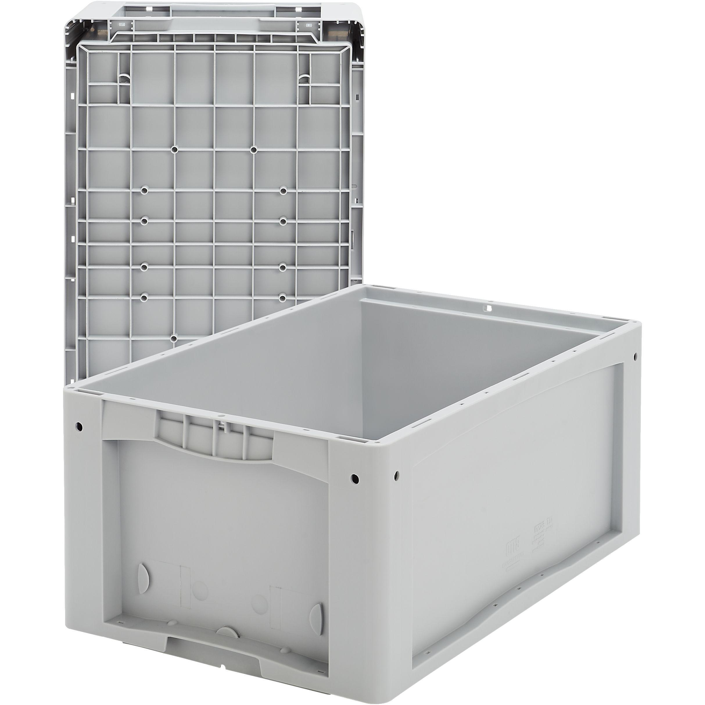 -Behälter KLT  64270DU   grau